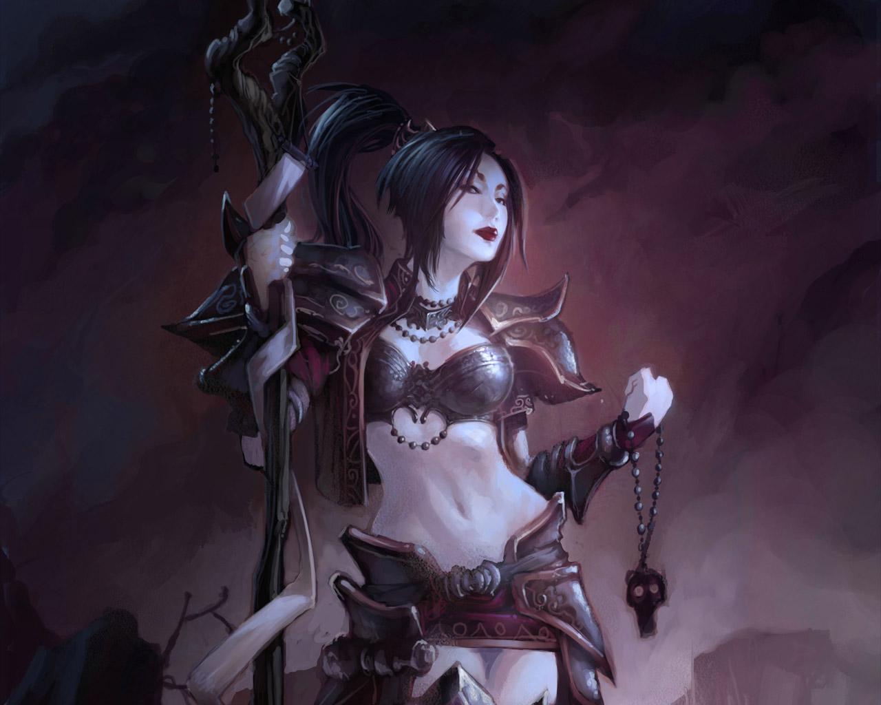Free Diablo III Wallpaper in 1280x1024