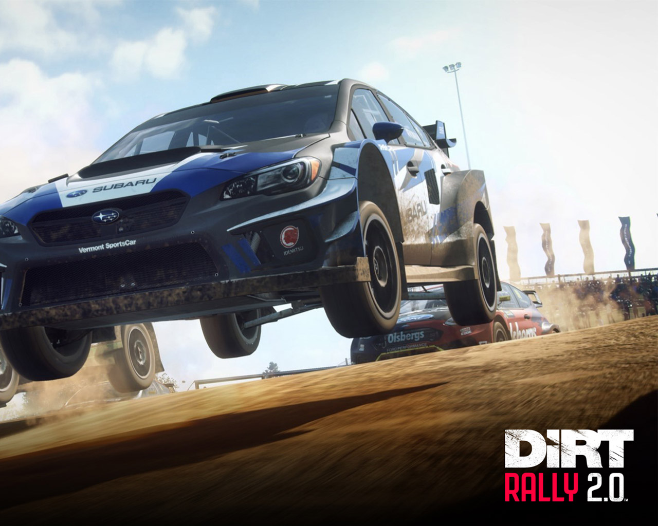 Free Dirt Rally 2.0 Wallpaper in 1280x1024