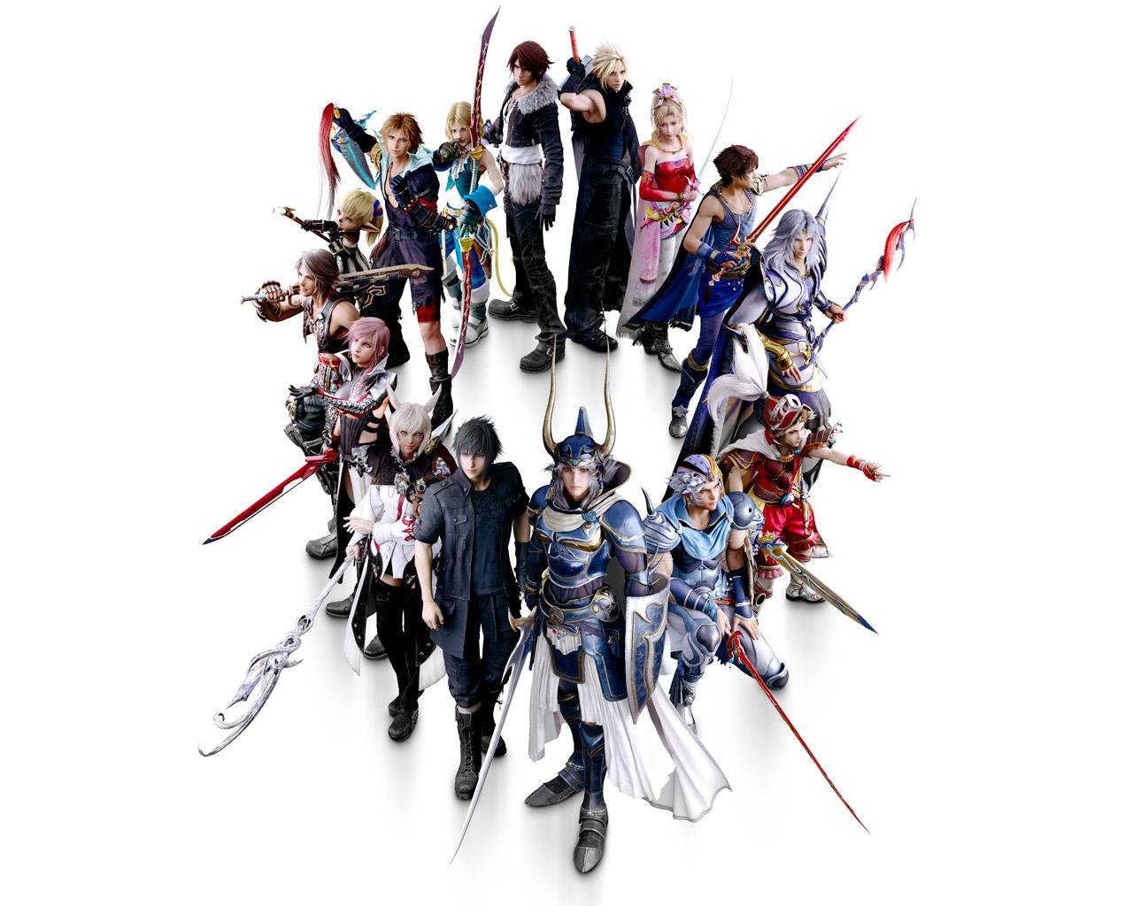 Free Dissidia Final Fantasy NT Wallpaper in 1280x1024