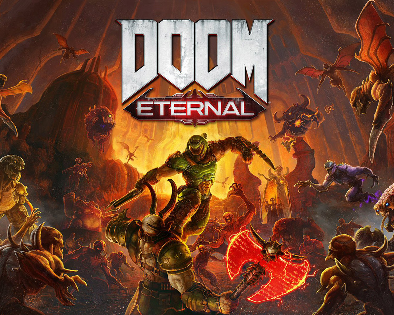 Free Doom Eternal Wallpaper in 1280x1024