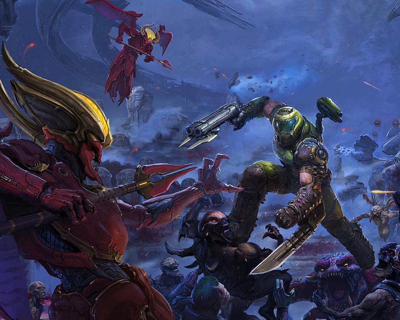 Doom Eternal Wallpaper in 1280x1024