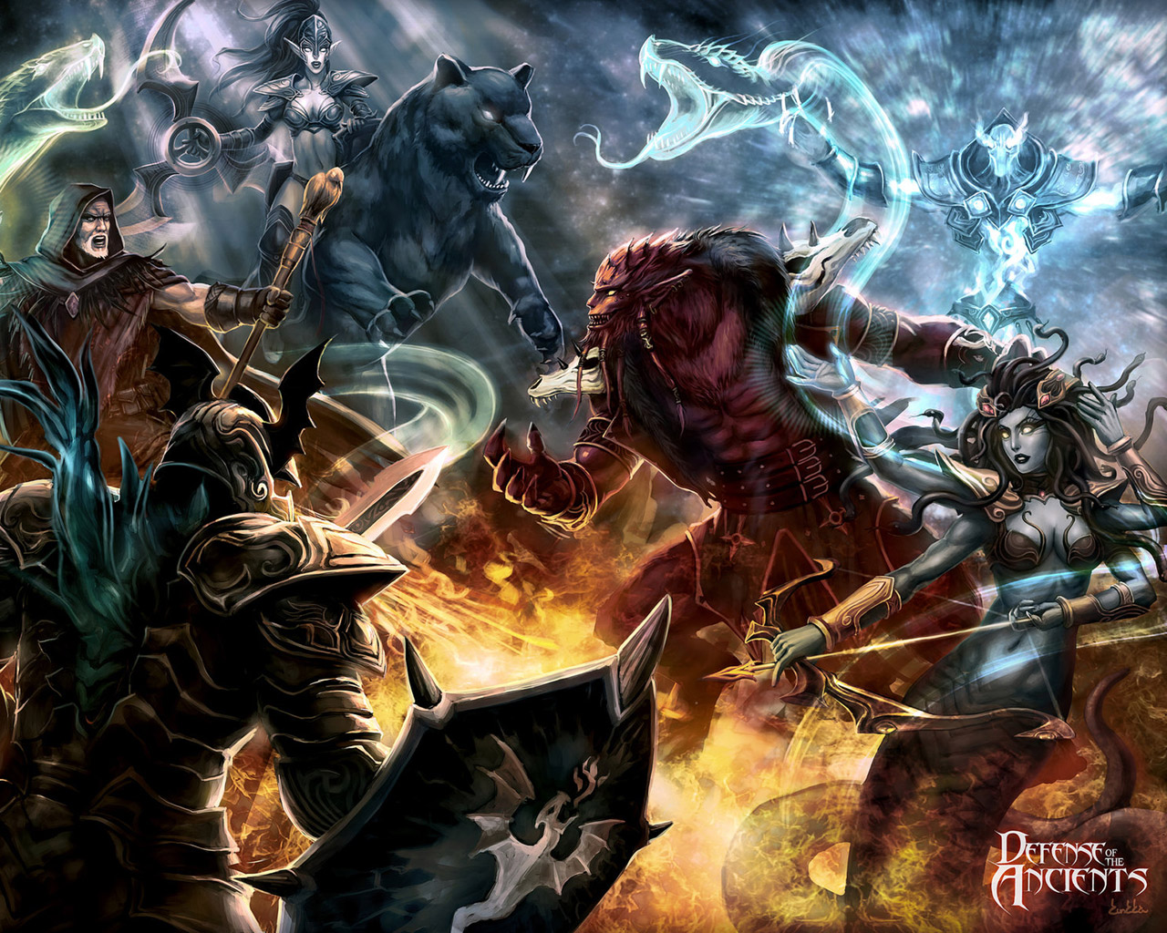 Free DotA: Defense of the Ancients Wallpaper in 1280x1024