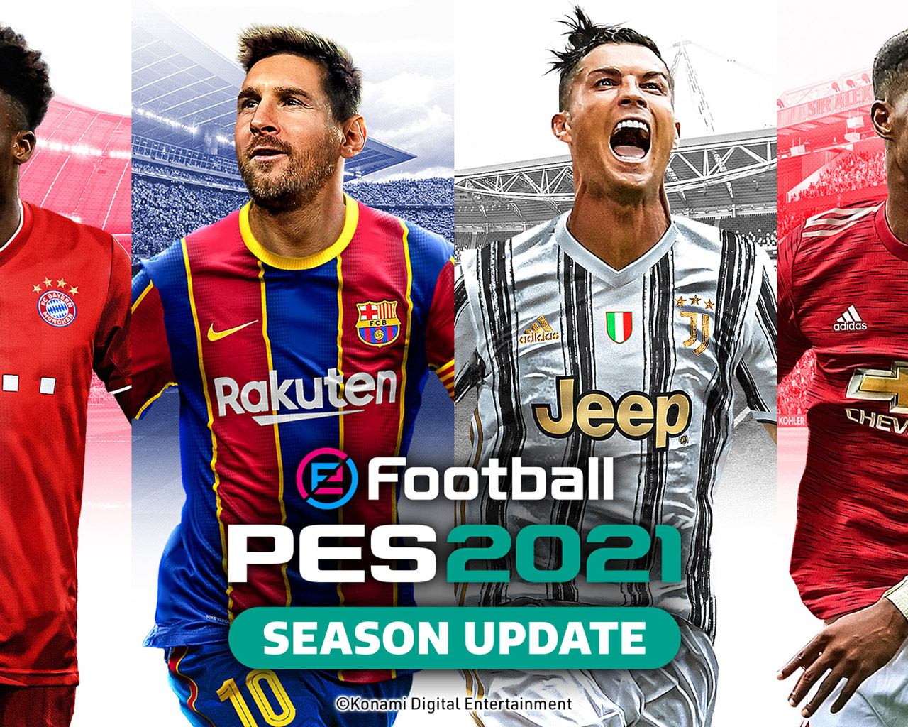 Free eFootball PES 2021 Wallpaper in 1280x1024
