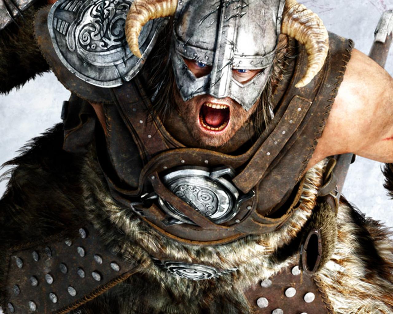 Free The Elder Scrolls V: Skyrim Wallpaper in 1280x1024