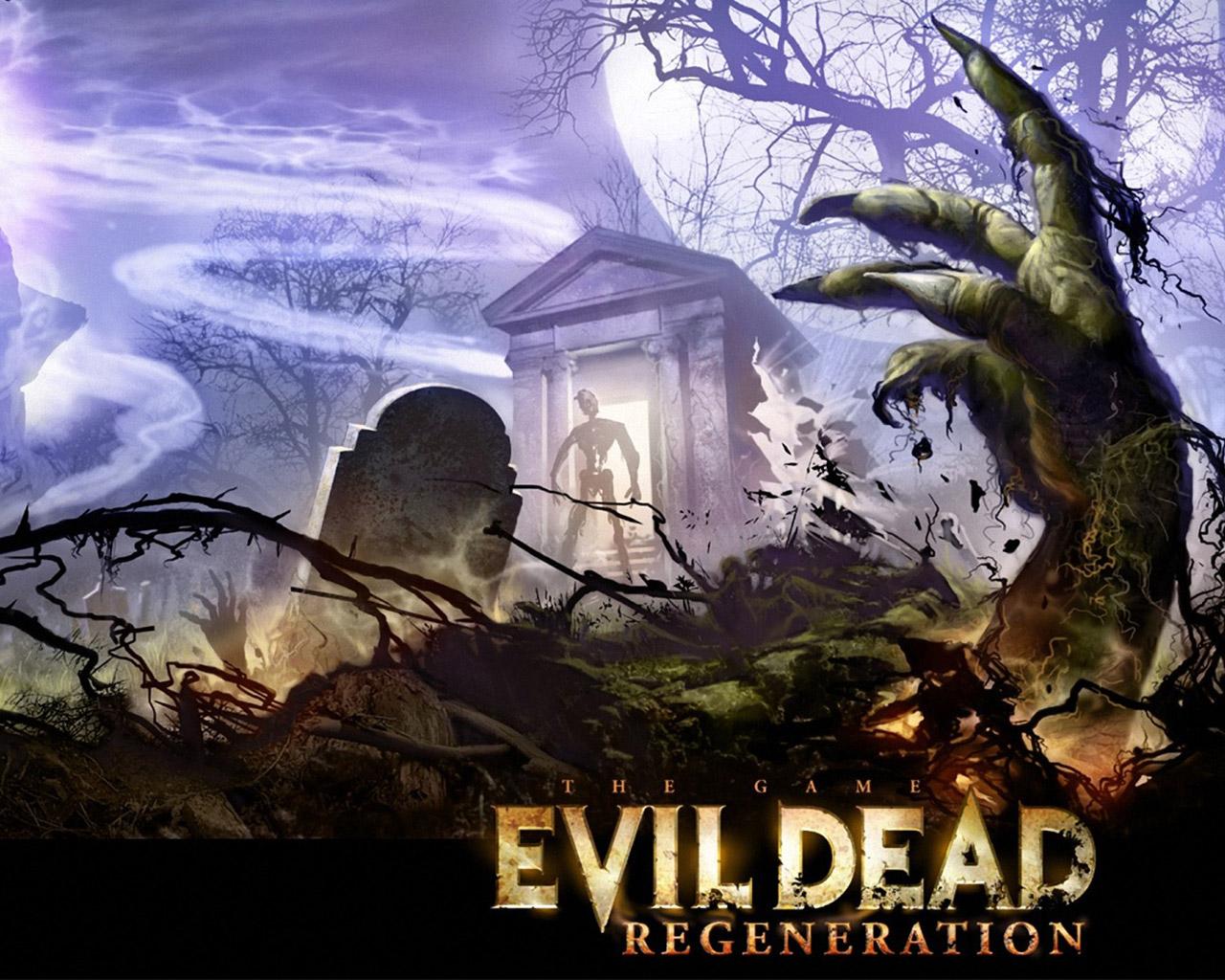 Evil Dead: Regeneration Wallpaper in 1280x1024