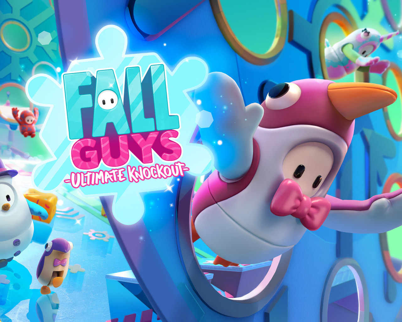 Free Fall Guys: Ultimate Knockout Wallpaper in 1280x1024