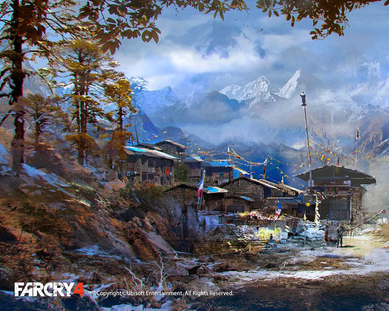 Far Cry 4 Wallpaper in 1280x1024