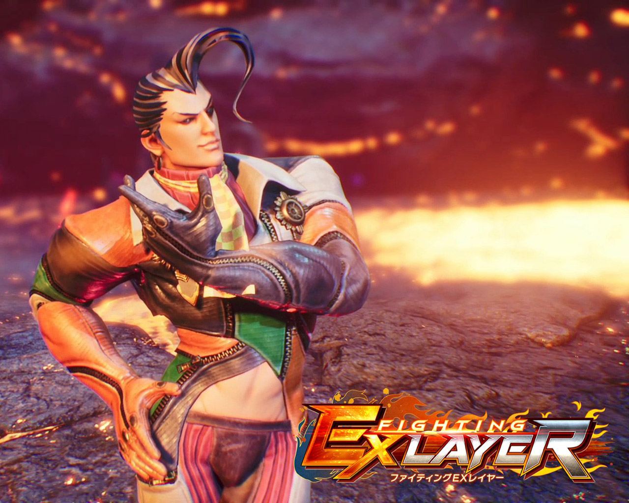 Free Fighting EX Layer Wallpaper in 1280x1024