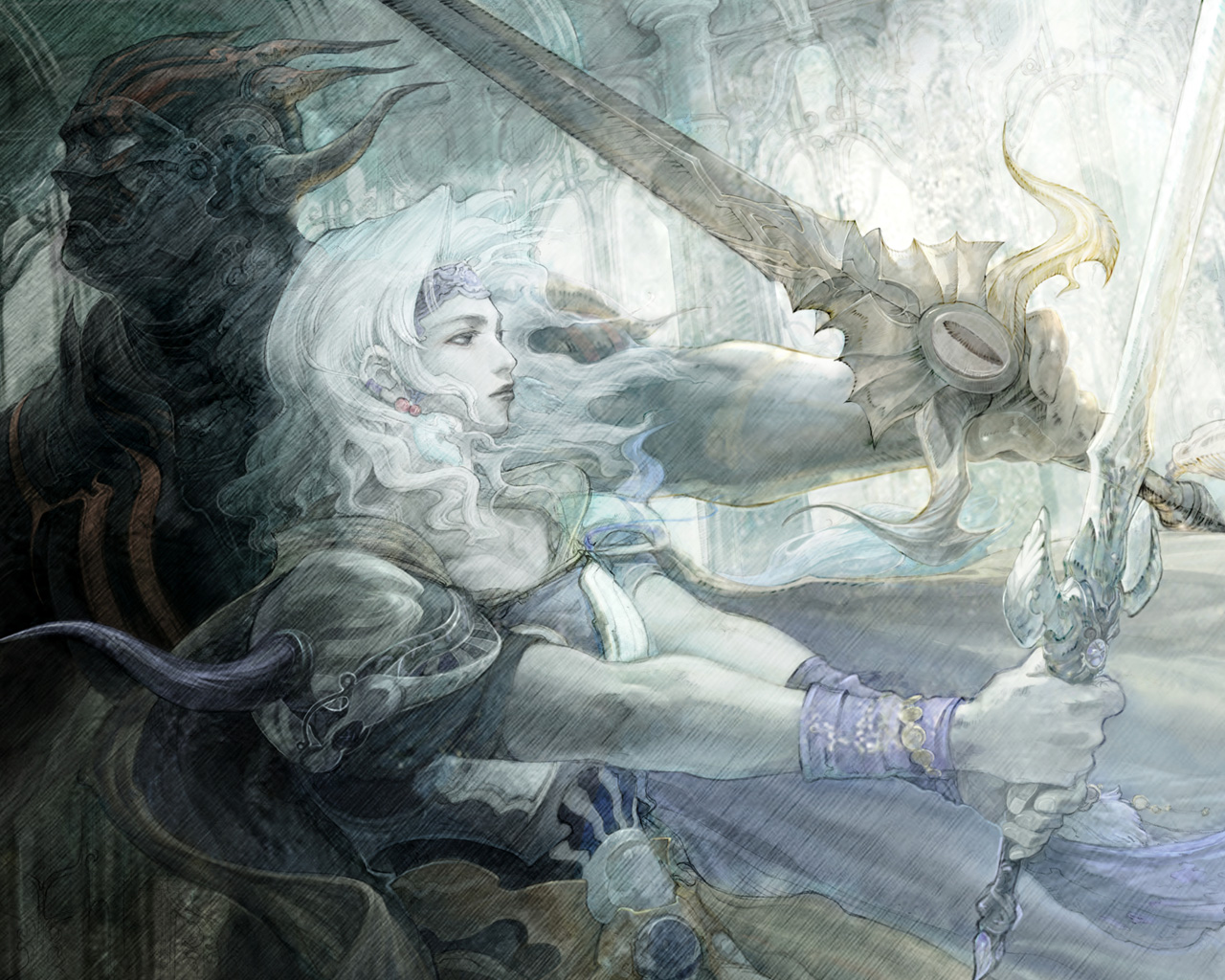 Free Final Fantasy IV Wallpaper in 1280x1024