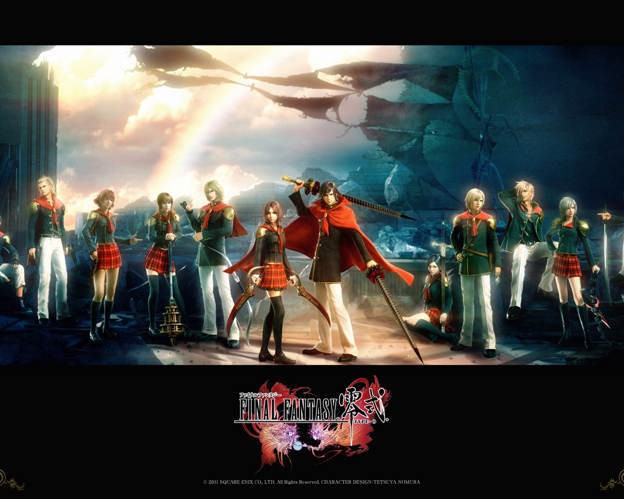 Free Final Fantasy Type-0 Wallpaper in 1280x1024