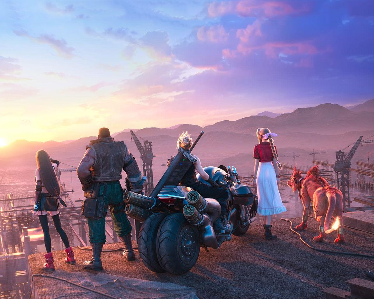 Free Final Fantasy VII Remake Wallpaper in 1280x1024
