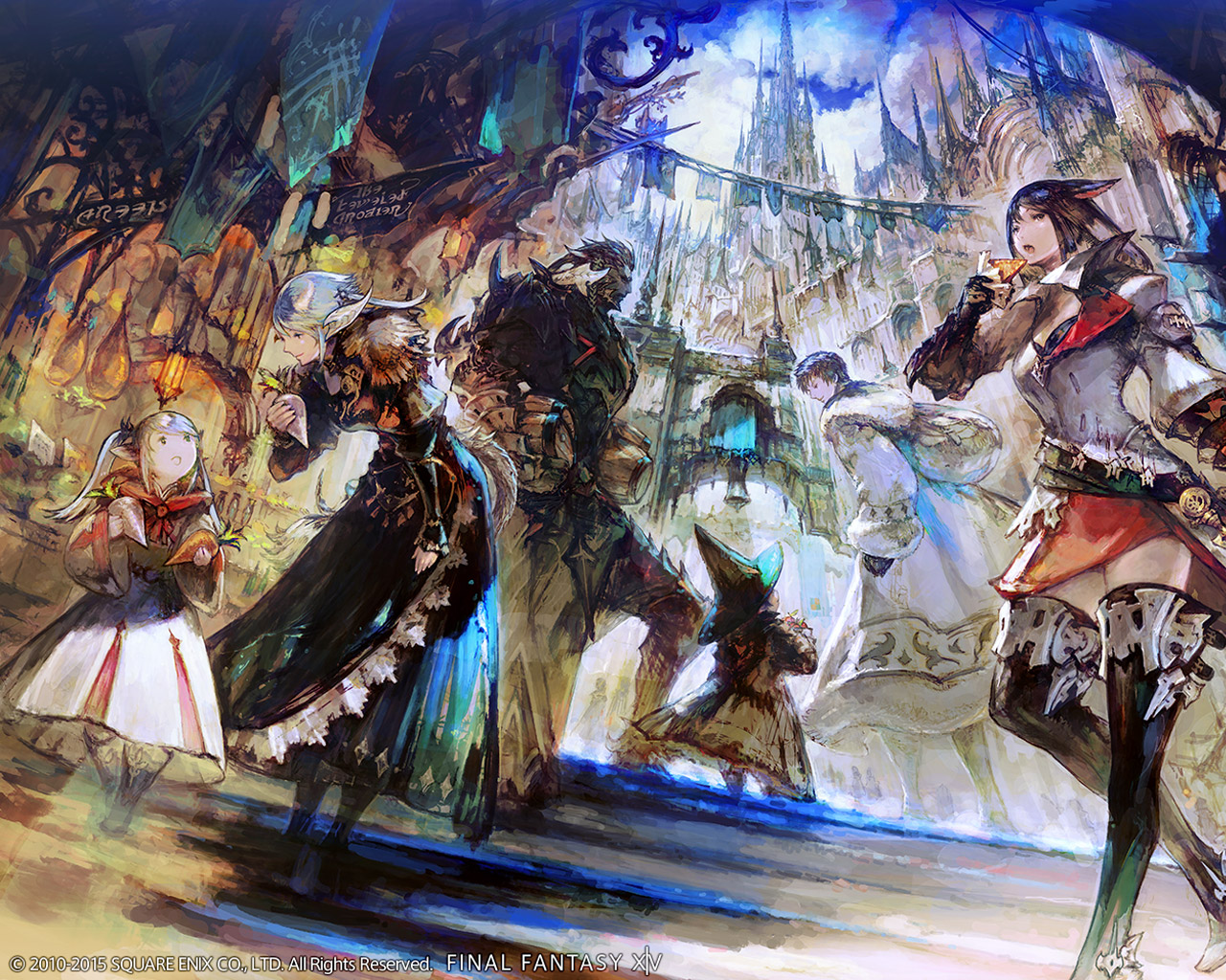Free Final Fantasy XIV Wallpaper in 1280x1024