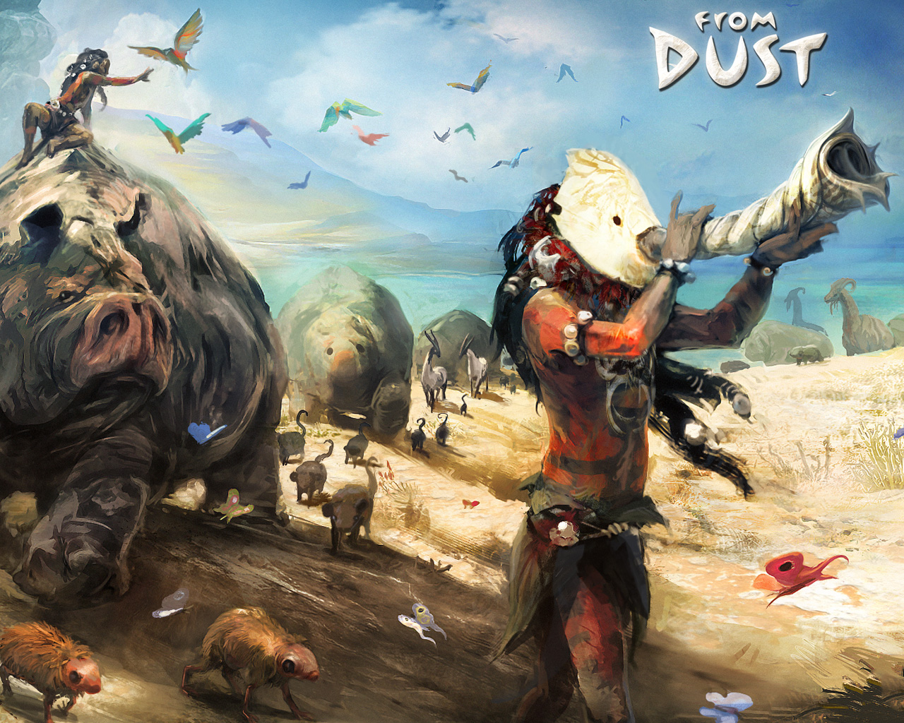 Free From Dust Wallpaper in 1280x1024