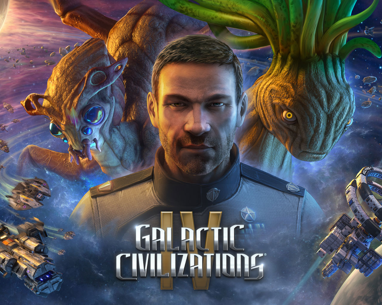 Free Galactic Civilizations IV Wallpaper in 1280x1024