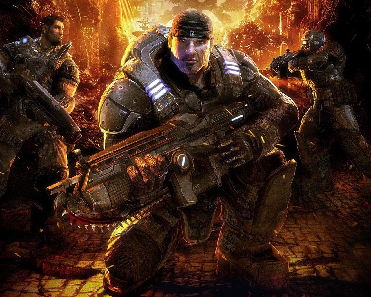 Gears of War Wallpaper in 1280x1024