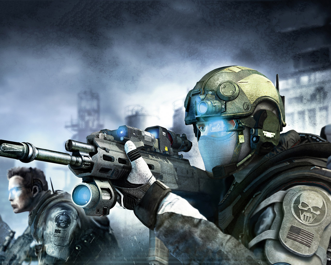 Ghost Recon: Future Soldier Wallpaper in 1280x1024