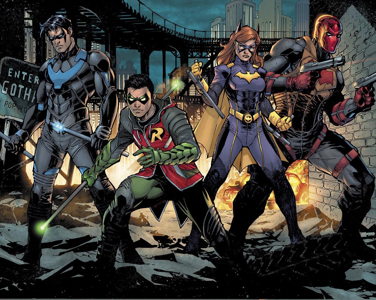 Gotham Knights Wallpaper in 1280x1024
