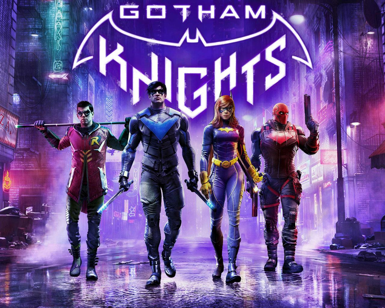 Free Gotham Knights Wallpaper in 1280x1024