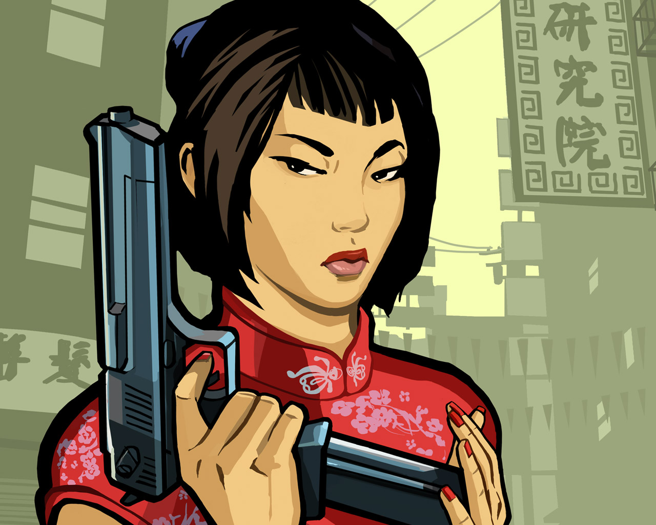 Free Grand Theft Auto: Chinatown Wars Wallpaper in 1280x1024