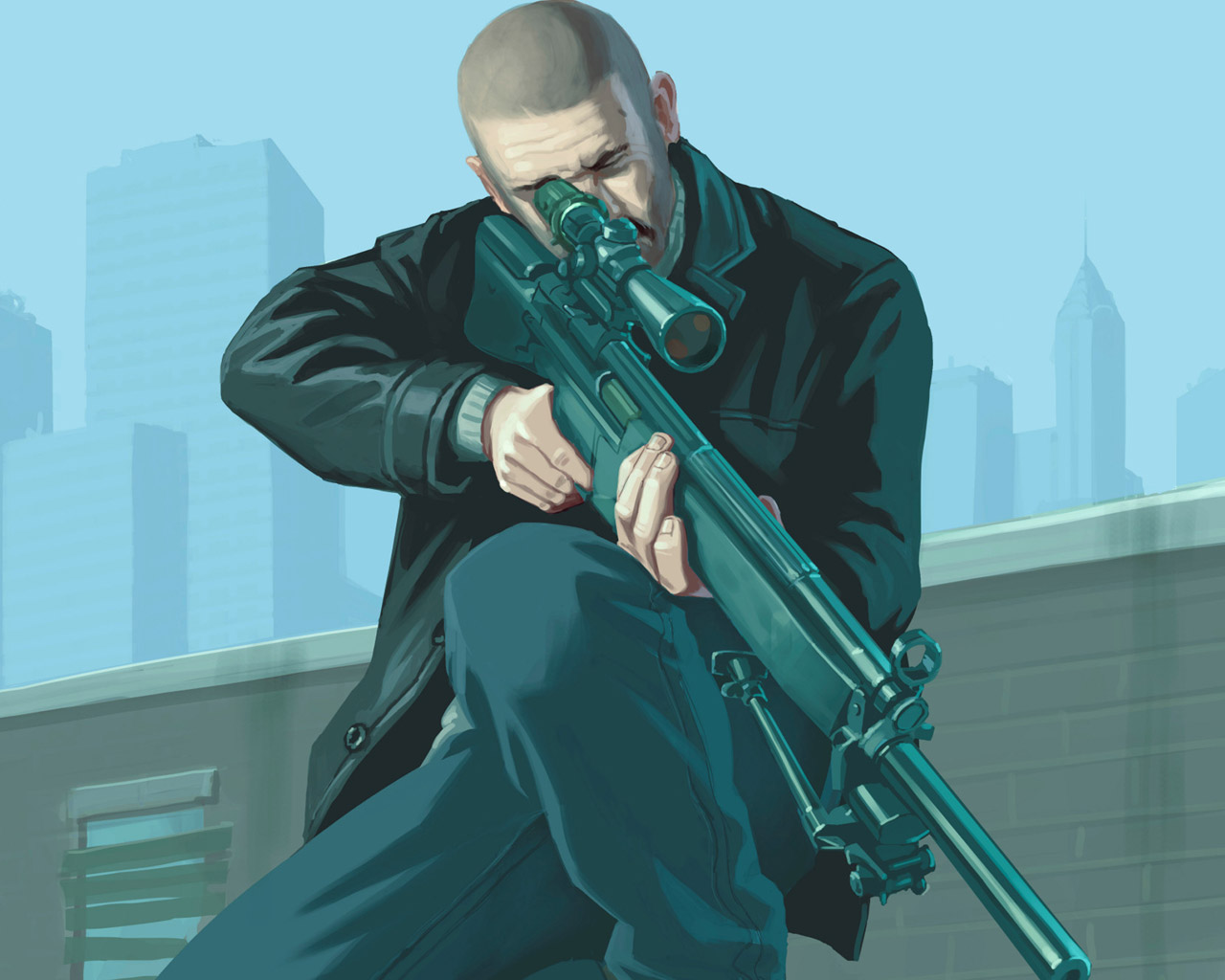 Free Grand Theft Auto IV Wallpaper in 1280x1024