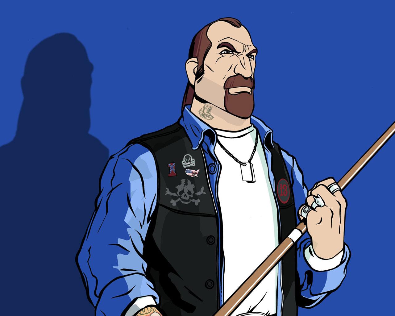 Free Grand Theft Auto: Vice City Wallpaper in 1280x1024