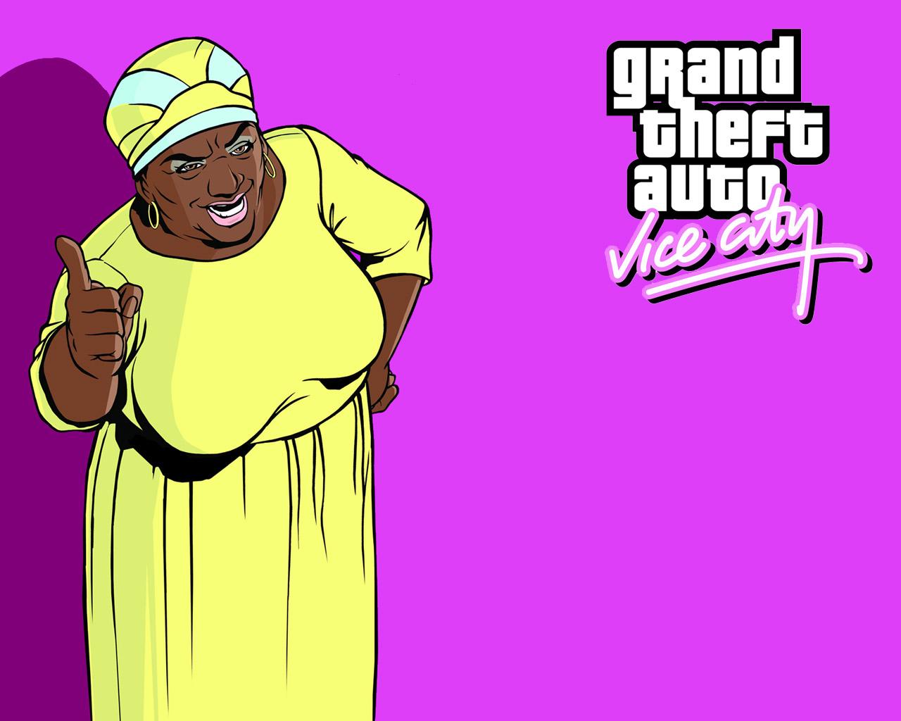 Grand Theft Auto: Vice City Wallpaper in 1280x1024