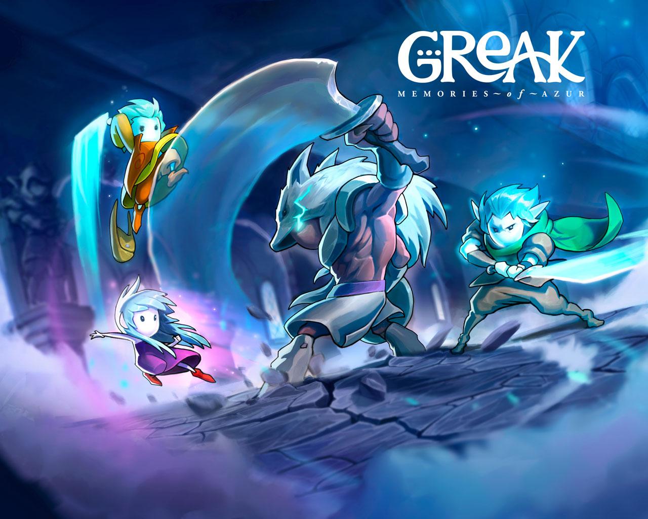 Free Greak: Memories of Azur Wallpaper in 1280x1024