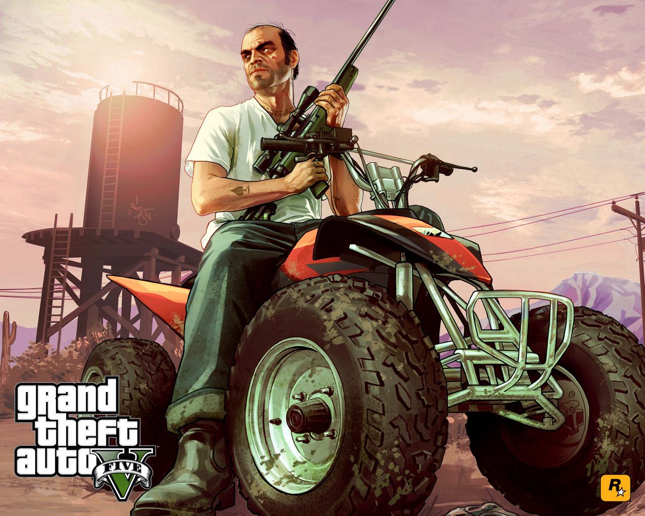 Grand Theft Auto V Wallpaper in 1280x1024
