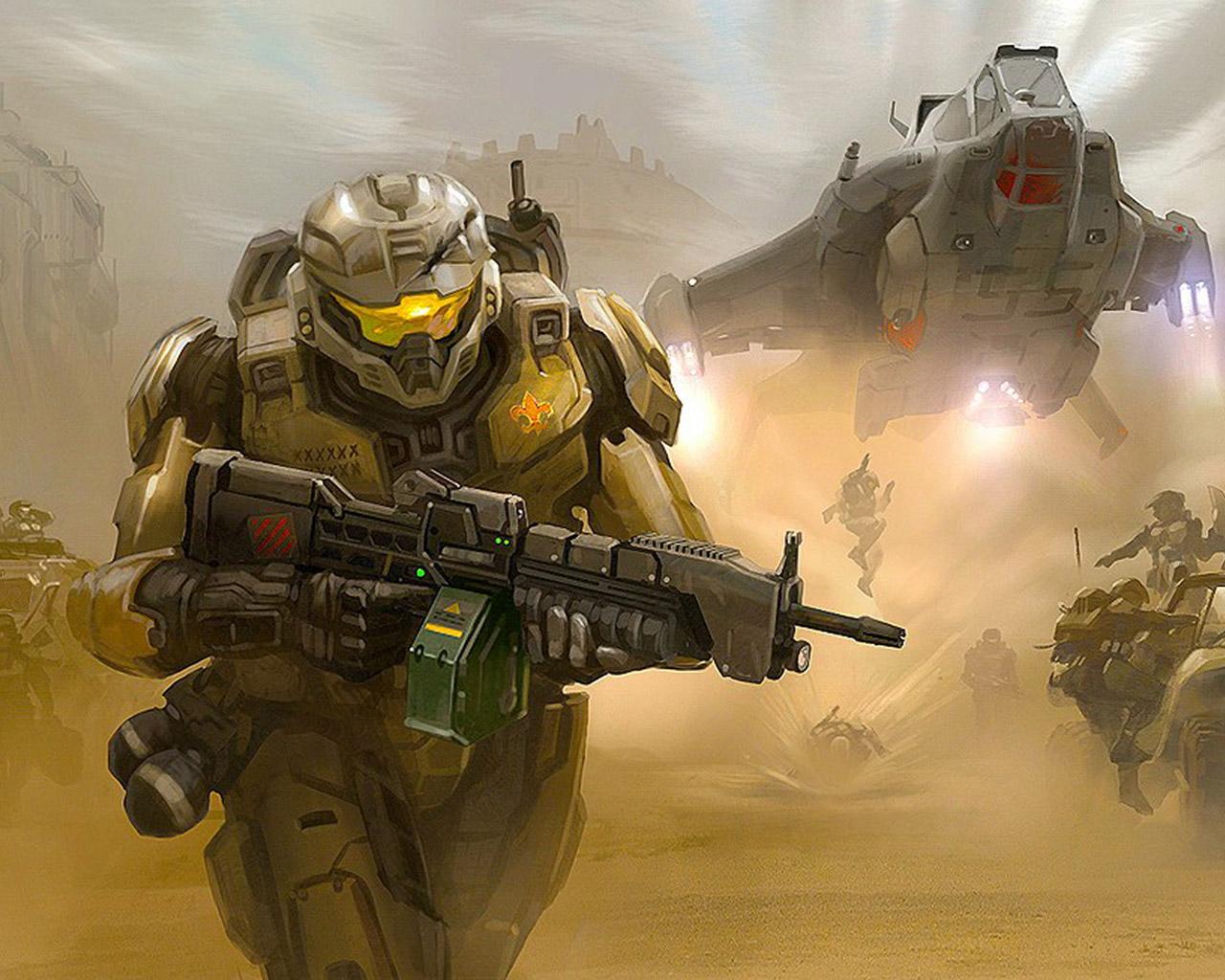 Halo: Reach Wallpaper in 1280x1024