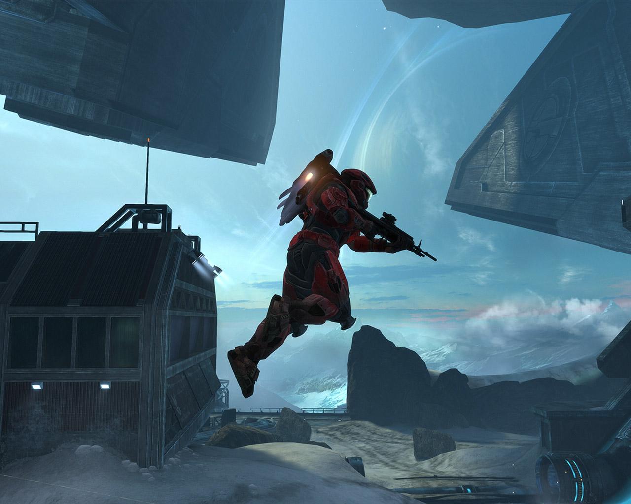 Free Halo: Reach Wallpaper in 1280x1024