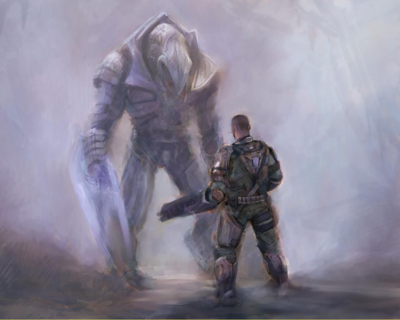 Halo Wars Wallpaper in 1280x1024