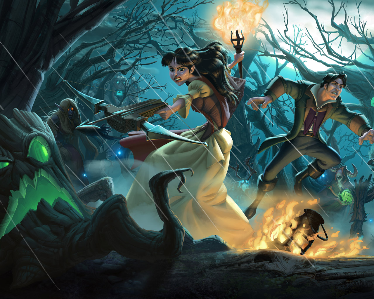 Free Hearthstone: Heroes of Warcraft Wallpaper in 1280x1024