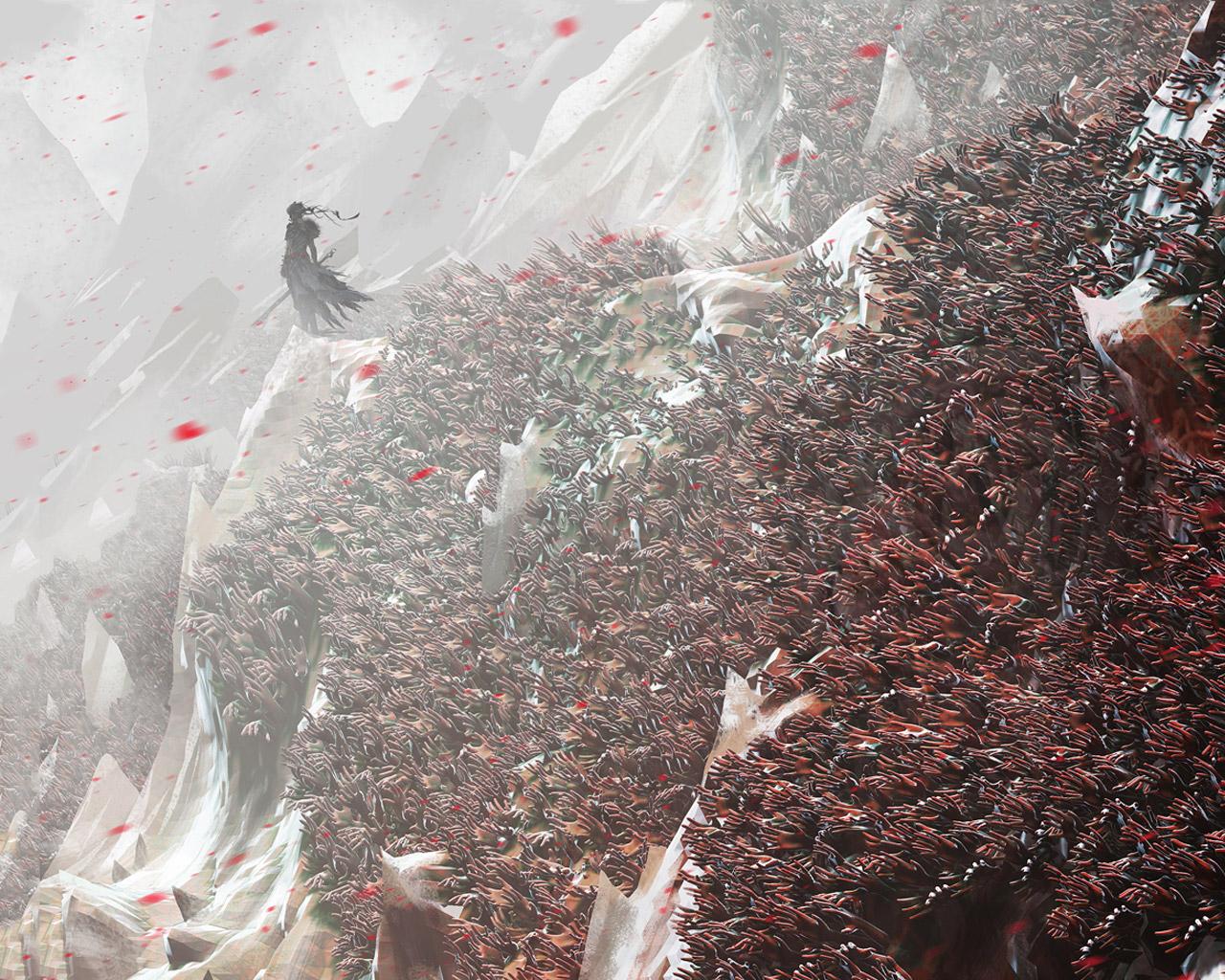 Hellblade: Senua's Sacrifice Wallpaper in 1280x1024