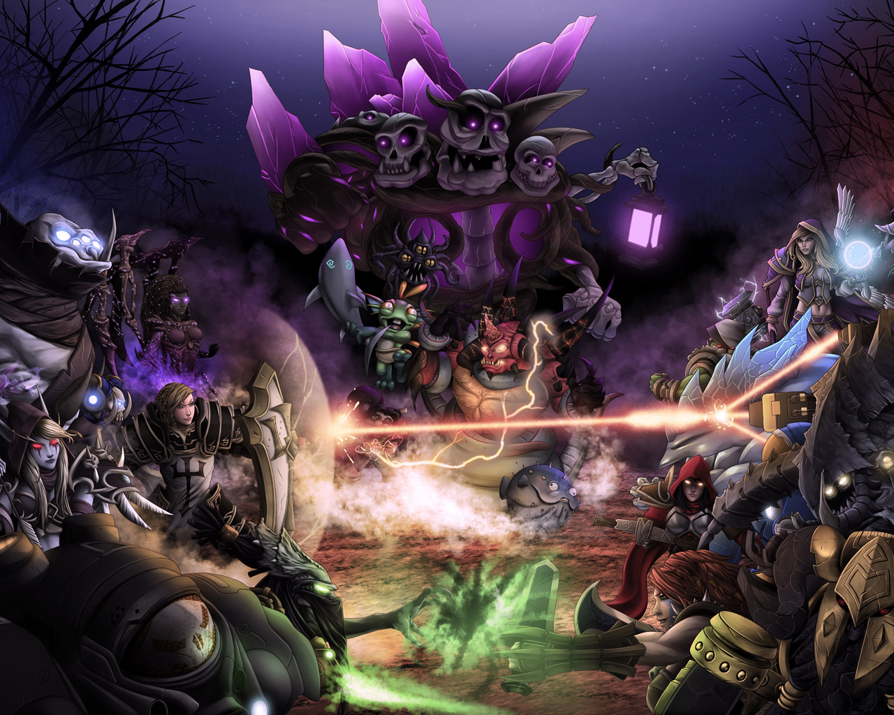 Free Heroes of the Storm Wallpaper in 1280x1024