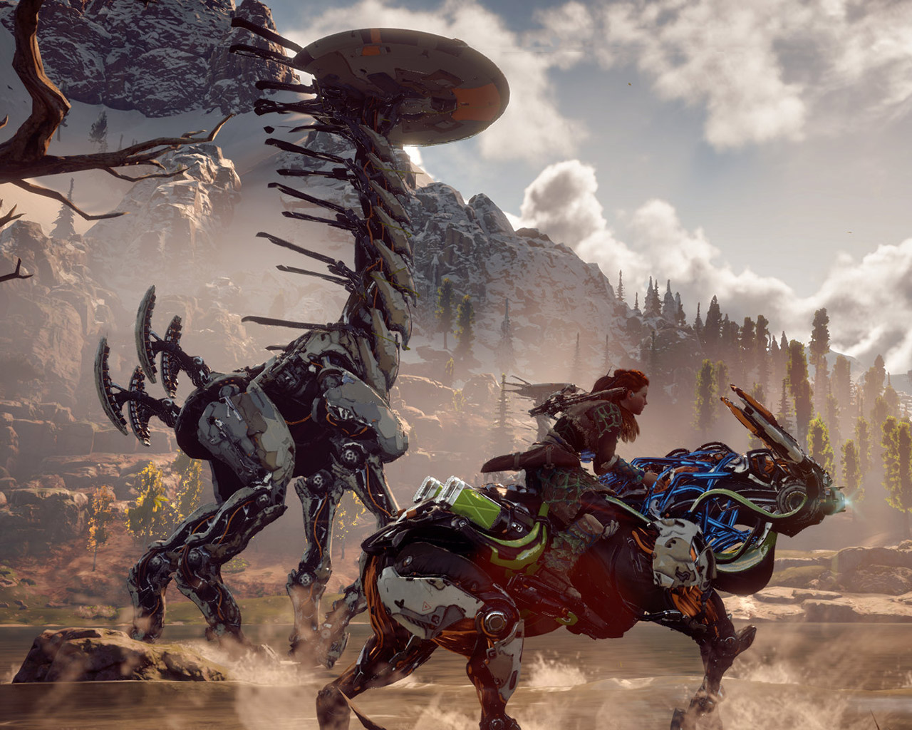 Free Horizon Zero Dawn Wallpaper in 1280x1024