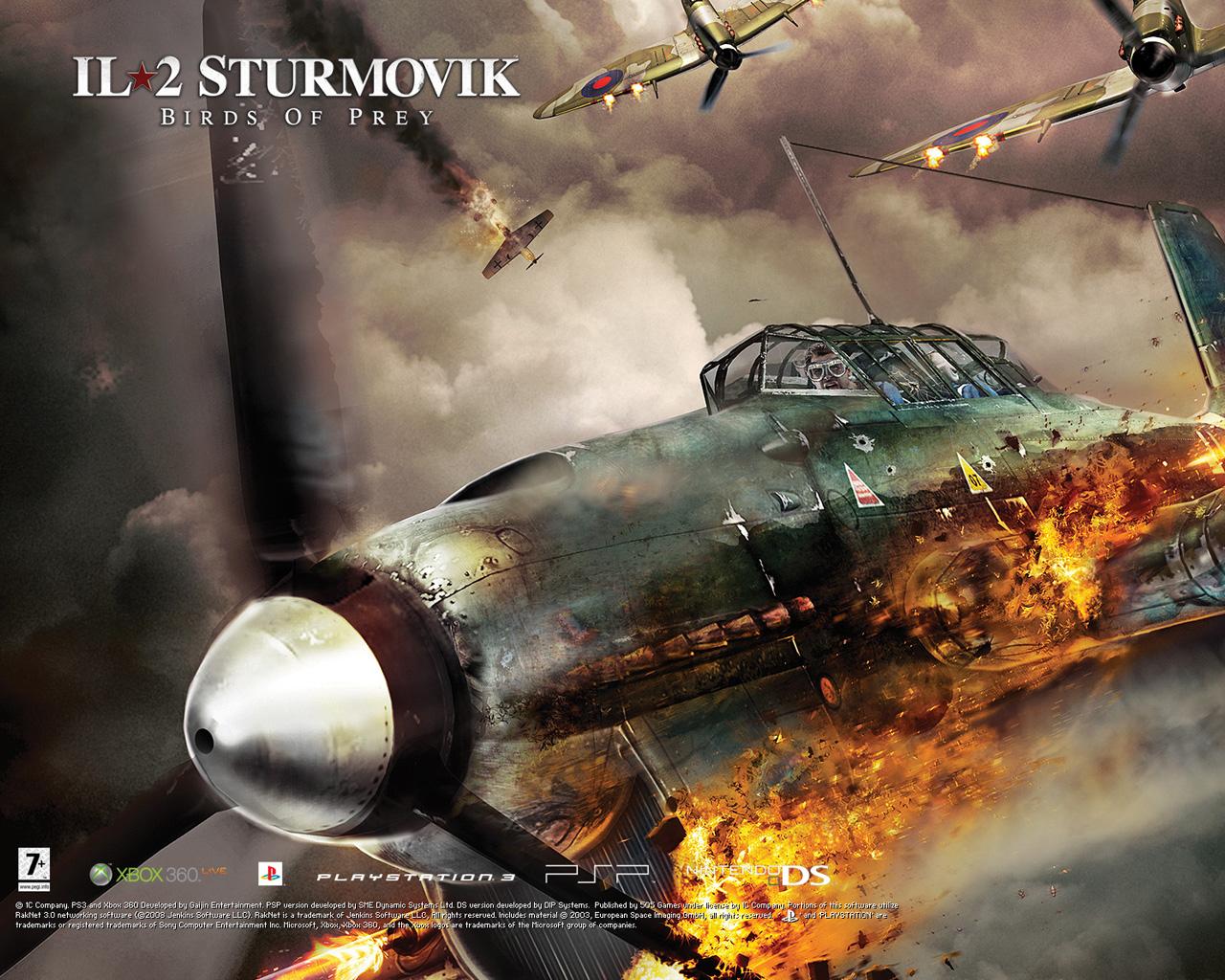 Free IL-2 Sturmovik: Birds of Prey Wallpaper in 1280x1024