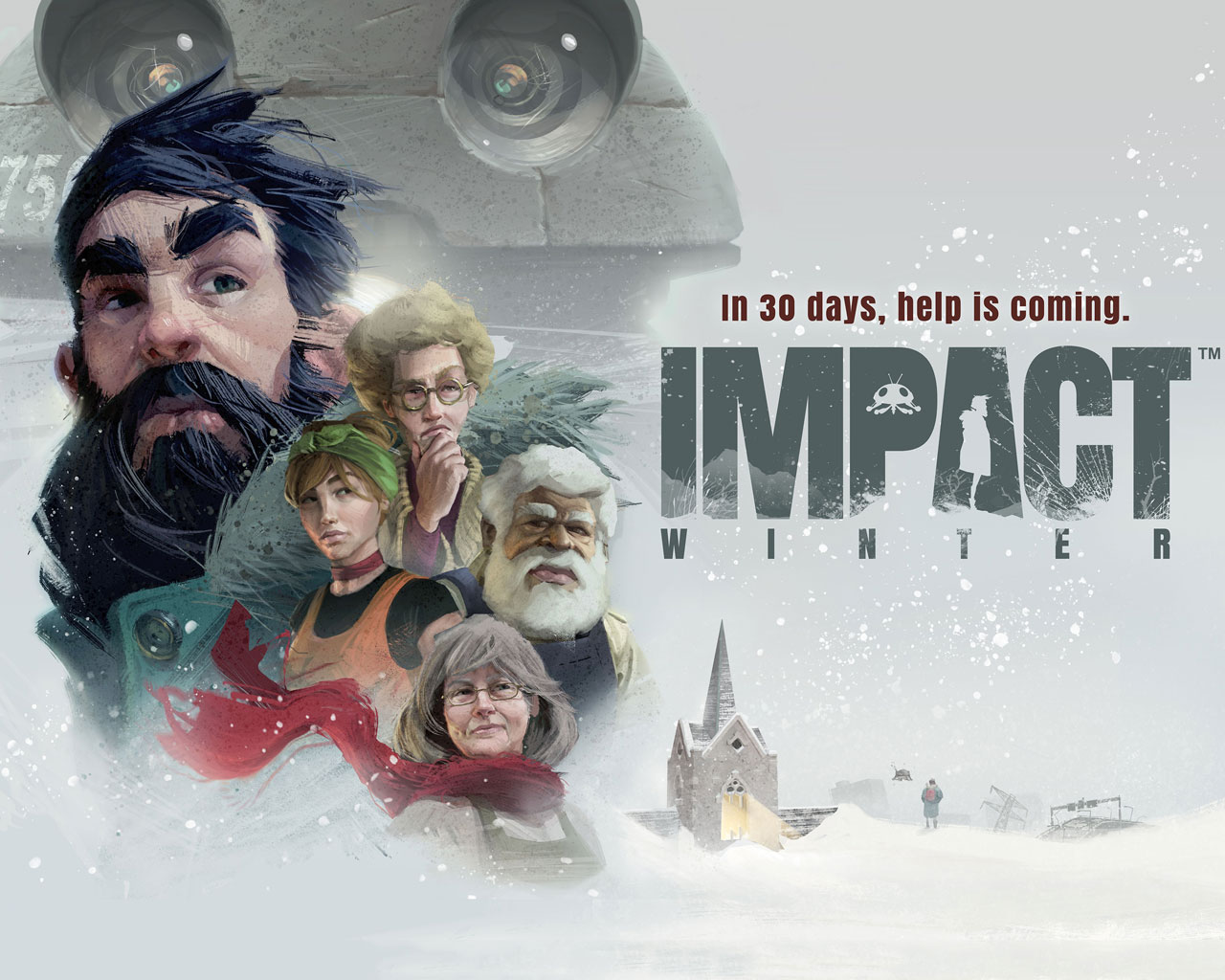 Free Impact Winter Wallpaper in 1280x1024