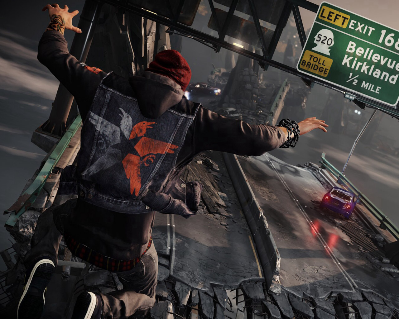 Free Infamous: Second Son Wallpaper in 1280x1024