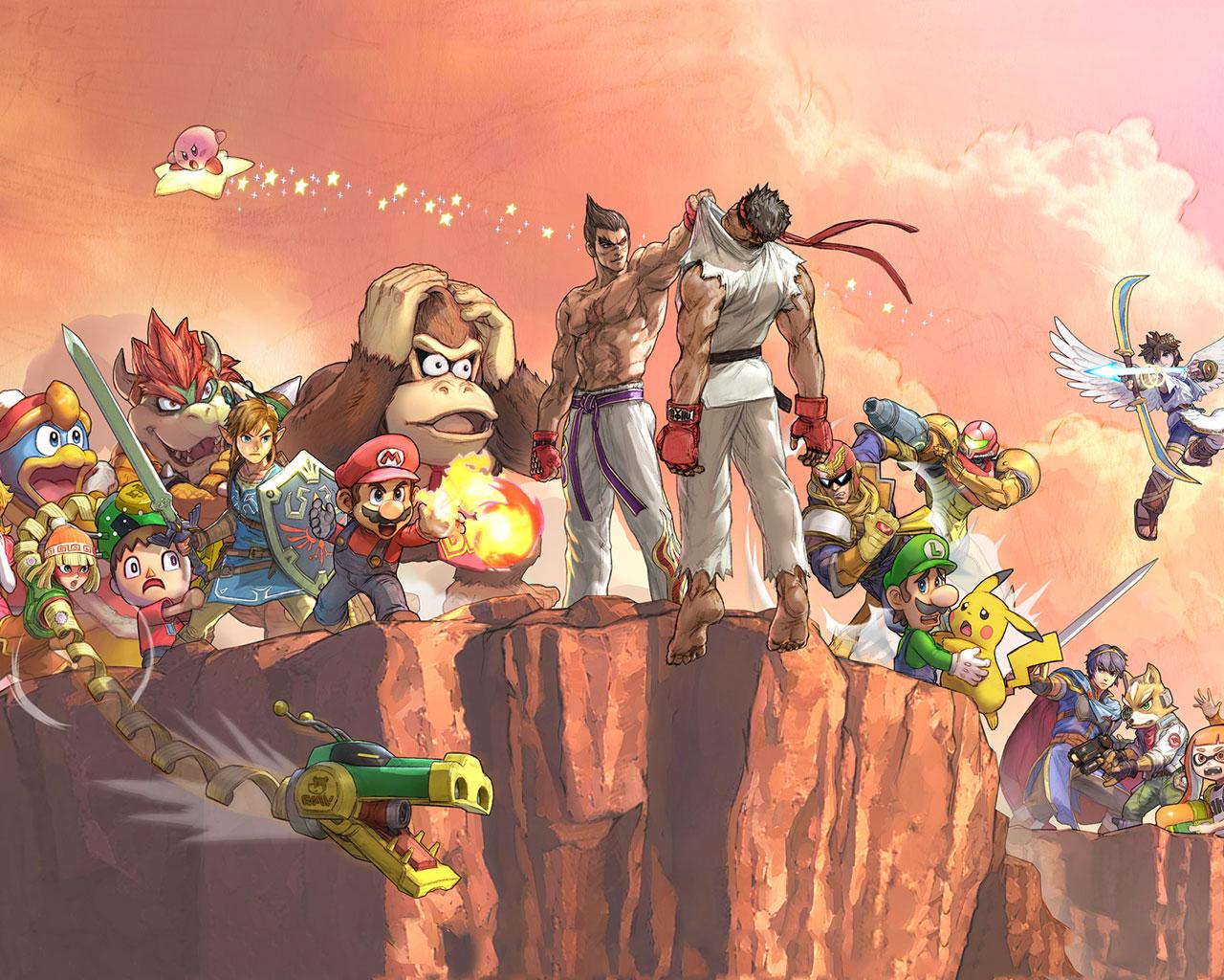 Free Super Smash Bros. Ultimate Wallpaper in 1280x1024