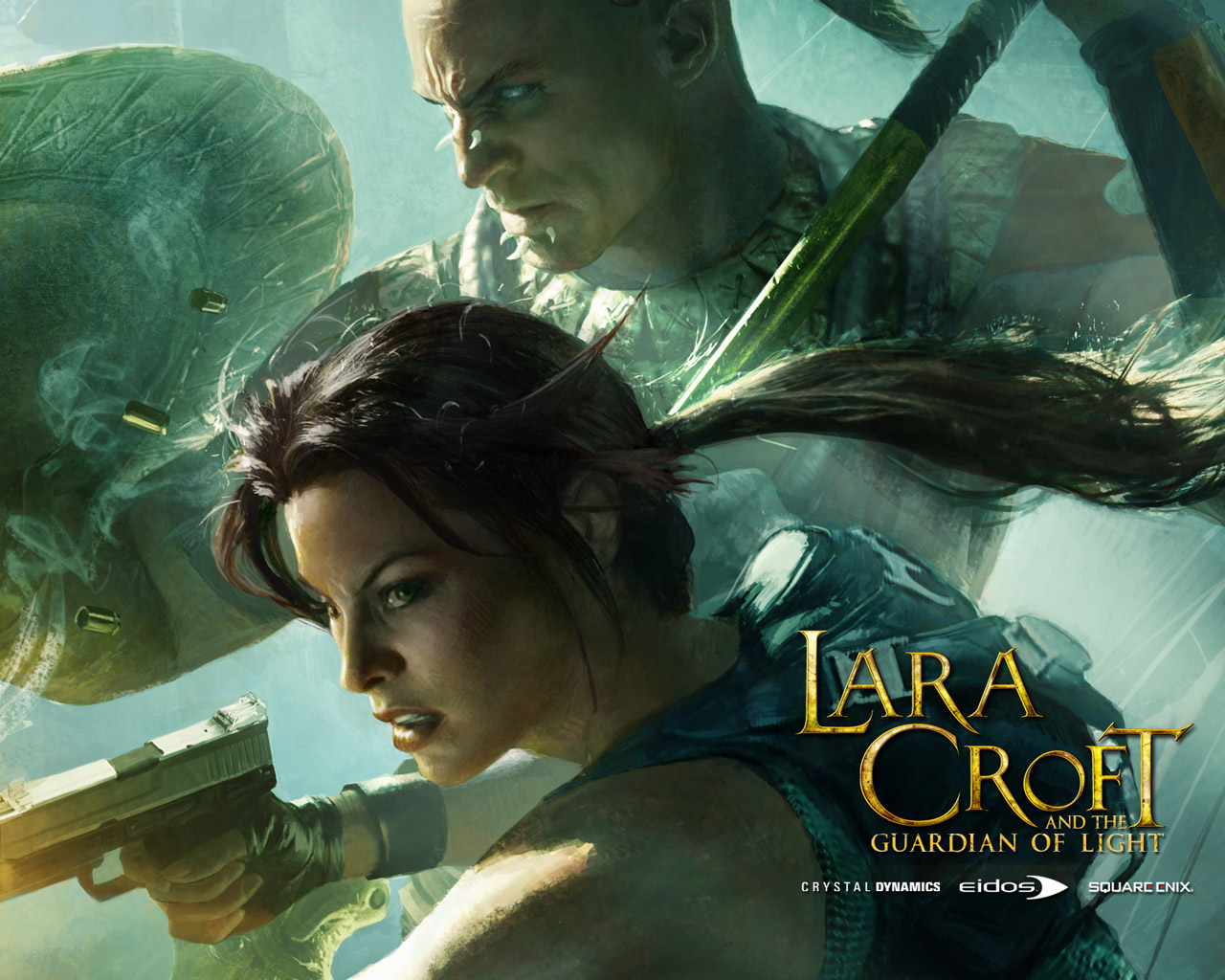 Lara Croft and the Guardian of Light Wallpaper in 1280x1024