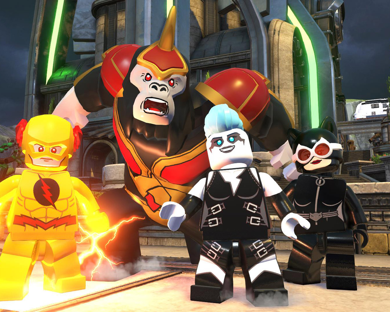 Free Lego DC Super Villains Wallpaper in 1280x1024