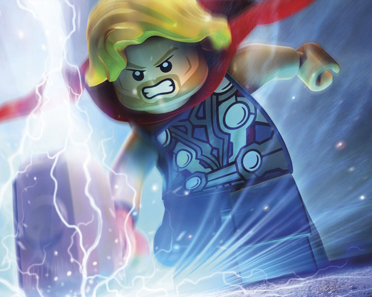 Free Lego Marvel Super Heroes Wallpaper in 1280x1024