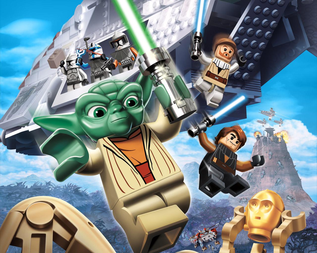 Free Lego Star Wars III: The Clone Wars Wallpaper in 1280x1024