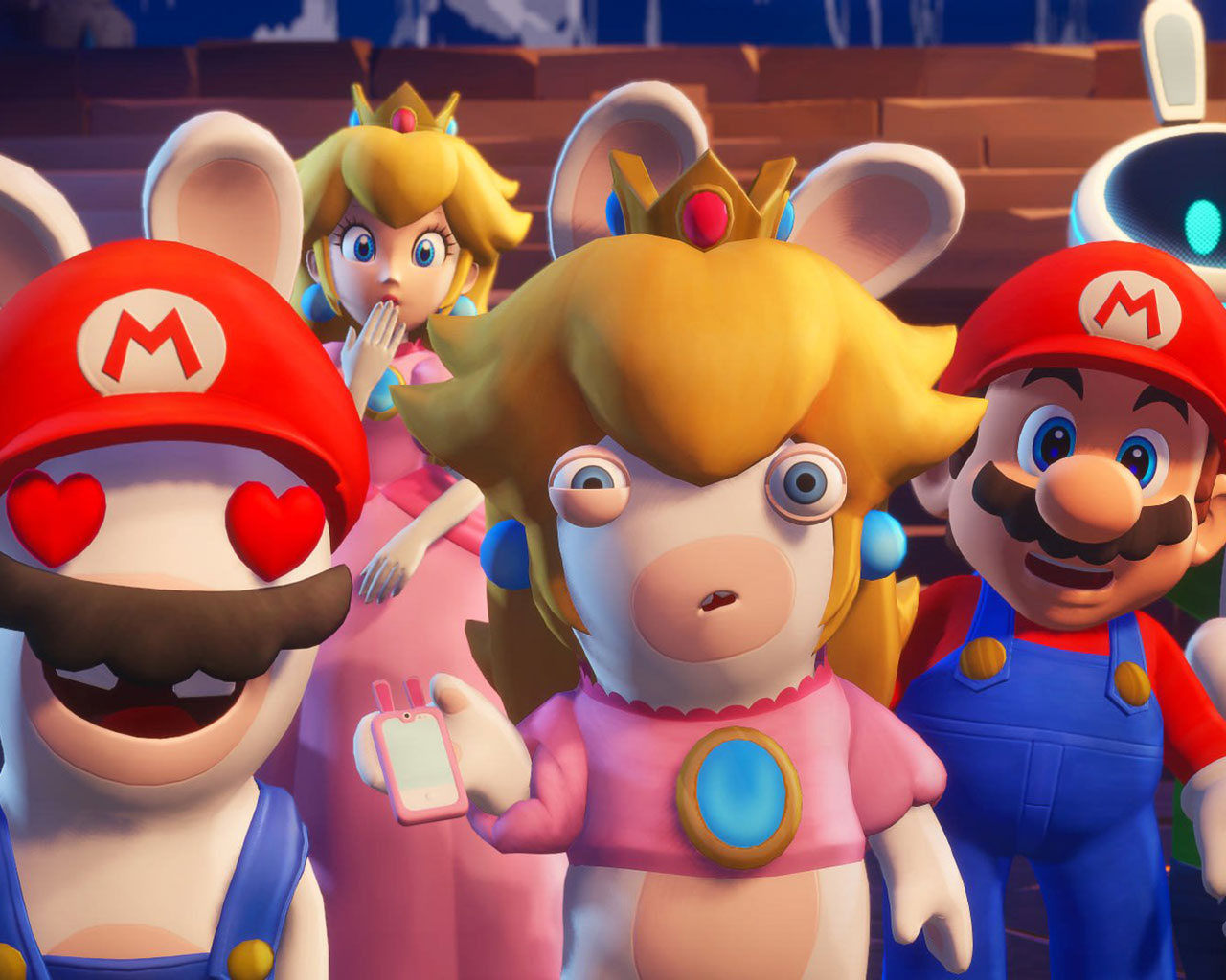 Free Mario + Rabbids: Sparks of Hope Wallpaper in 1280x1024