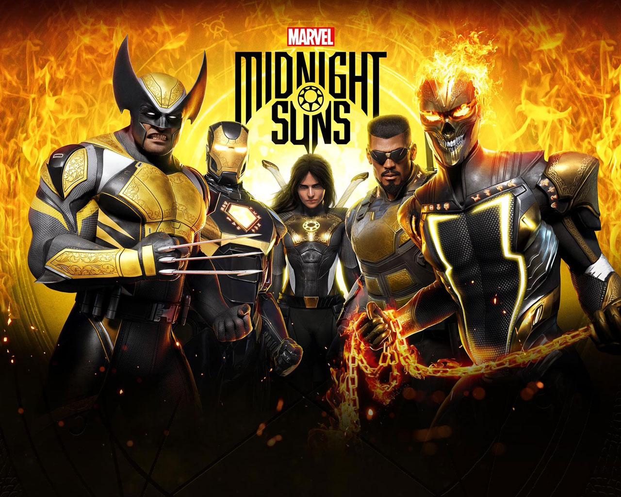 Free Marvel's Midnight Suns Wallpaper in 1280x1024
