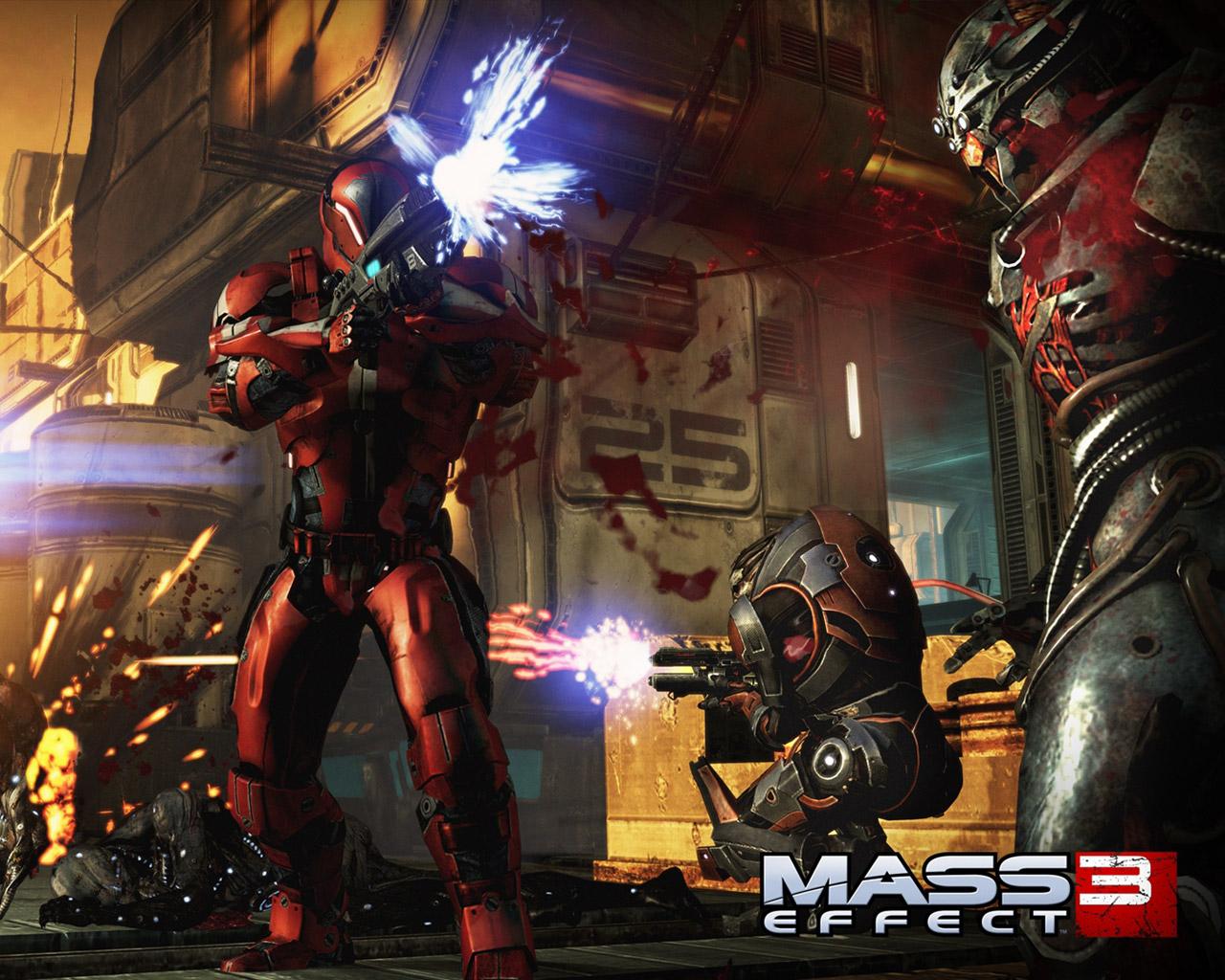 Free Mass Effect 3 Wallpaper in 1280x1024