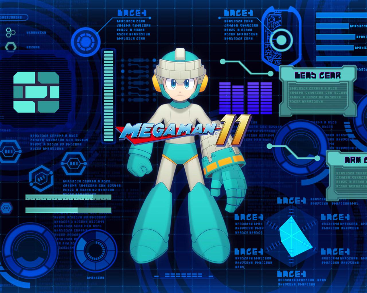 Mega Man 11 Wallpaper in 1280x1024