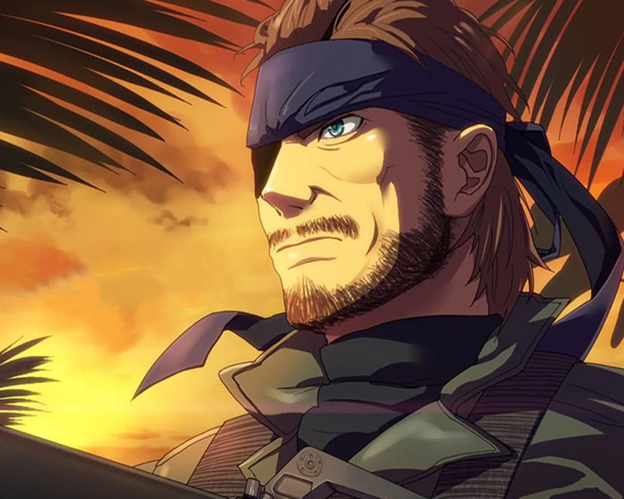 Free Metal Gear Solid: Peace Walker Wallpaper in 1280x1024