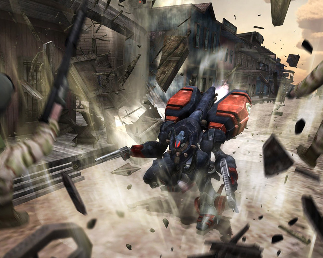 Free Metal Wolf Chaos XD Wallpaper in 1280x1024