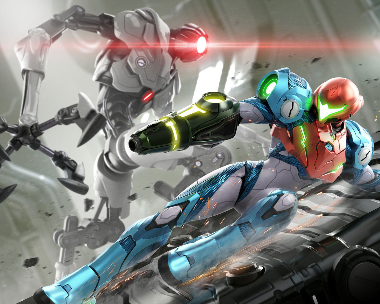 Free Metroid Dread Wallpaper in 1280x1024